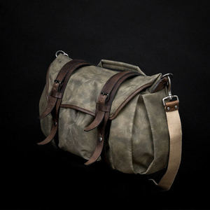 WOTANCRAFT TROOPER INTERIOR MODULE SHOULDER BAG - Ash green - XLLEICA, 라이카
