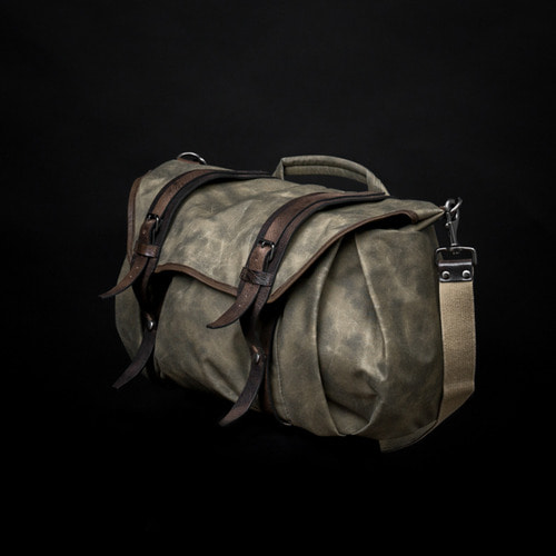 WOTANCRAFT TROOPER INTERIOR MODULE SHOULDER BAG - Ash green - LLEICA, 라이카
