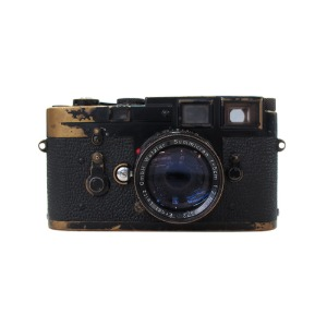 LEICA  M3 Vintage Black Paint Regid brass mountLEICA, 라이카